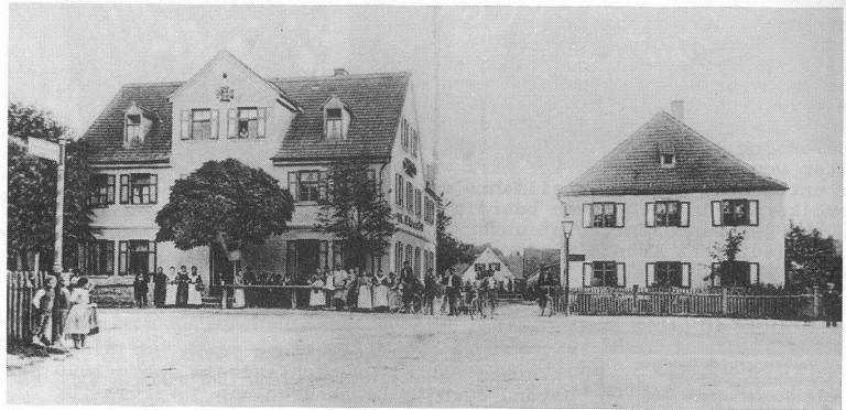 Vereinslokal Eisernes Kreuz um 1900
